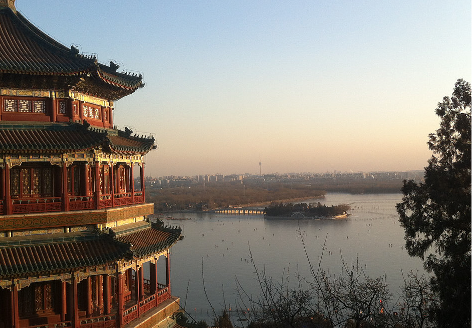 ZhìNéng QìGōng con Karl y Helen en Beijing