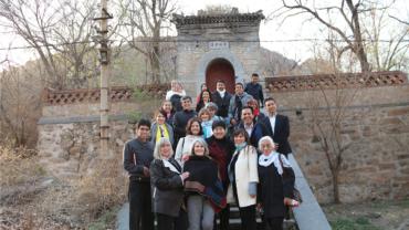 Histórica visita al Centro Hua Xia